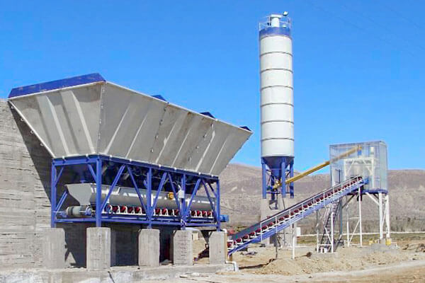drum type concrete batching plant