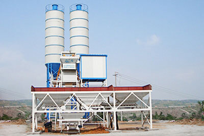 Camelway HZS35 Concrete Batching Plant is ready to deliver to Oman