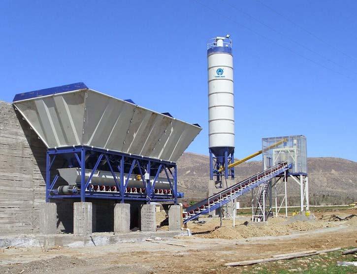 Dry Mix Concrete Batching Plant
