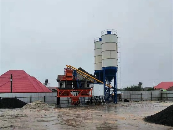 25m³h Concrete Batching Plant For sale Tanzania