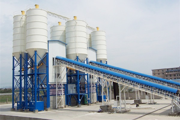 2HZS120 Concrete Batching Plant