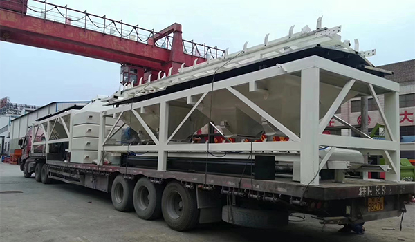 2hzs120 concrete plant will delivery to chongqing
