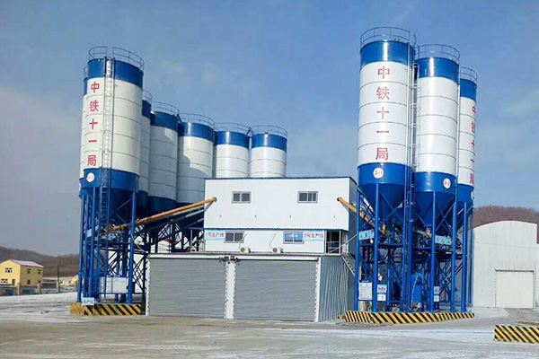 2HZS180 Concrete Batching Plant