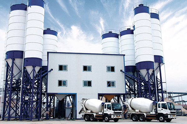 2HZS240 Concrete Batching Plant