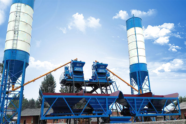 2HZS25 Concrete Batching Plant