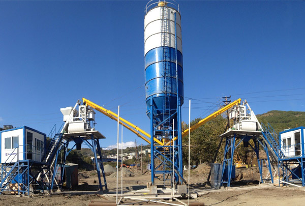 2HZS35 Concrete Batching Plant