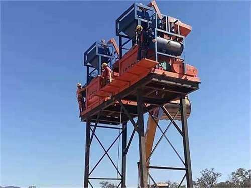 2HZS35 Concrete Batching plant For Sale Bolivia1
