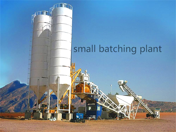 Advantages And Disadvantages Of Small Concrete Batching Plant