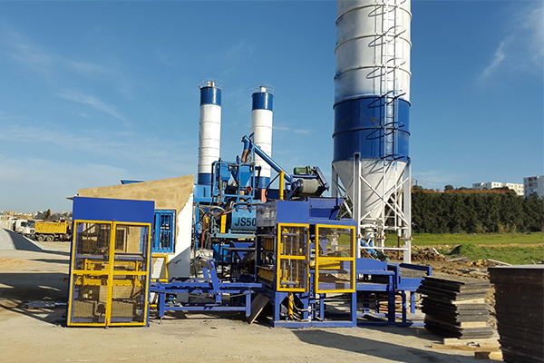 Concrete Block Batching Plant