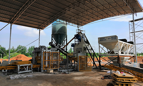 brick plant in Zimbabwe