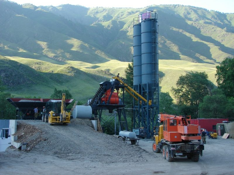 Stationary Concrete Mixing Plant