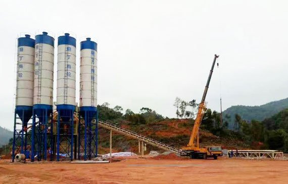 camelway batching plant in Laos