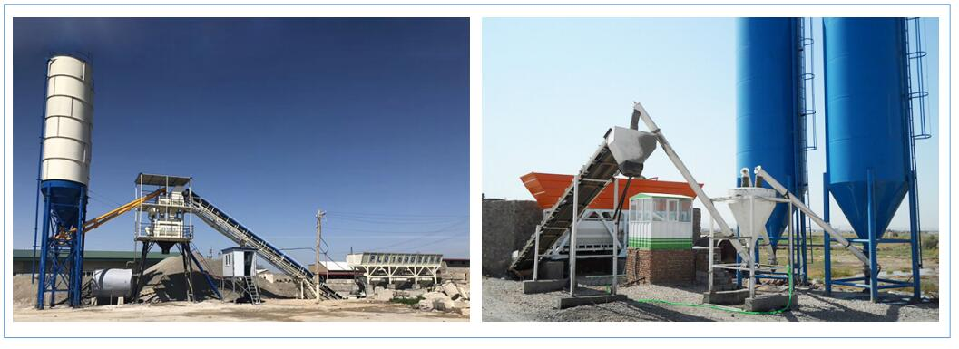 central mix and truck mixer concrete plant