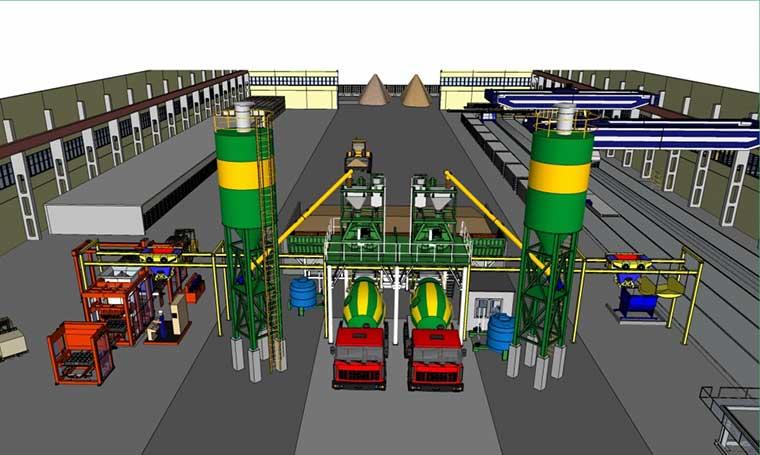 concrete batching plant capacity