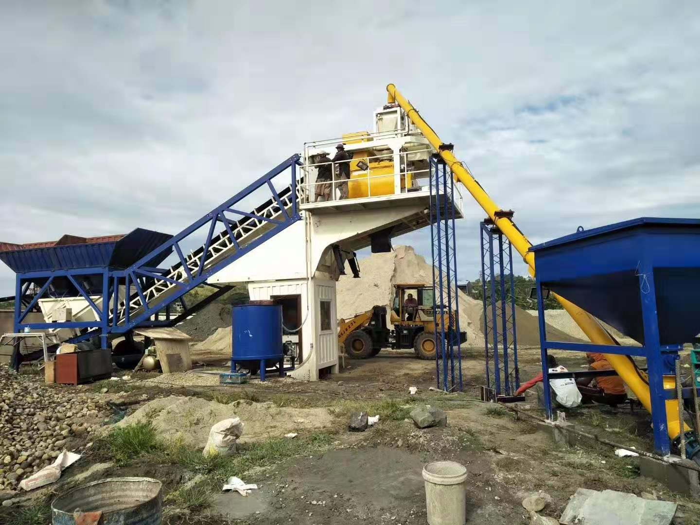 Concrete Batching Plant for Sale Angola