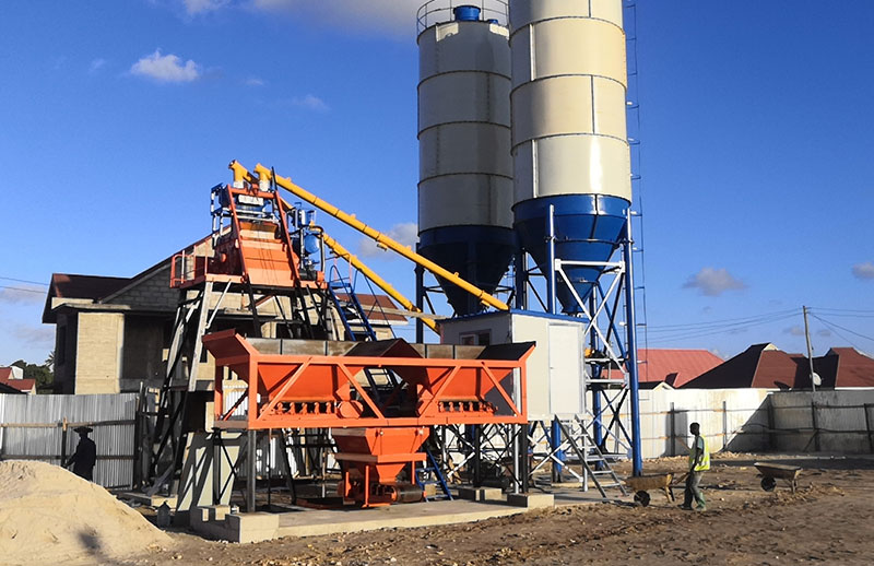 Concrete Batching Plant for Sale Djibouti