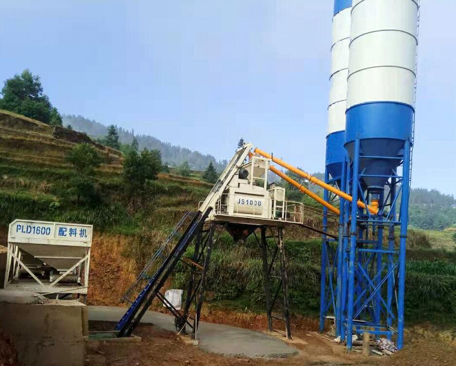 Concrete Batching Plant for Sale in Bangladesh