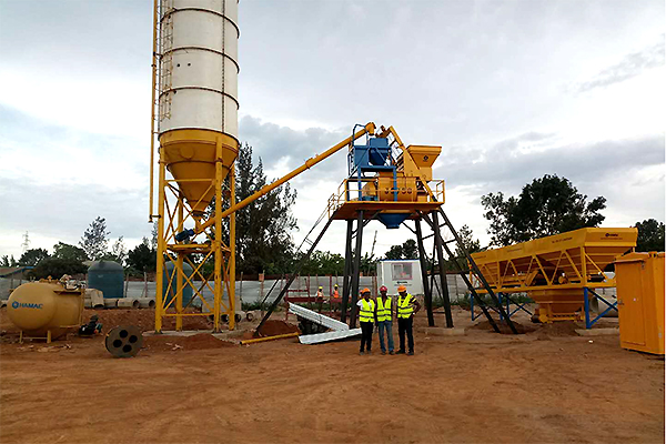 Concrete Batching Plant For Sale In Indonesia