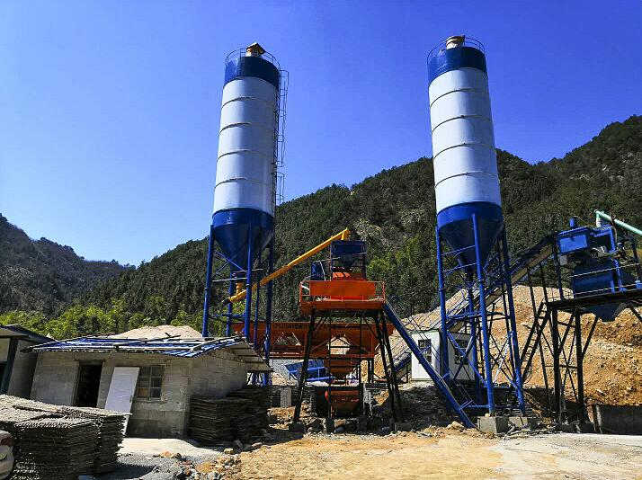 Concrete Batching Plant for Sale in Myanmar