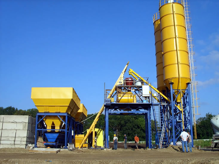 Concrete Batching Plant for Sale in Oman