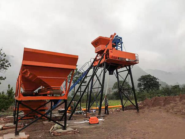 Concrete Batching Plant for Sale India