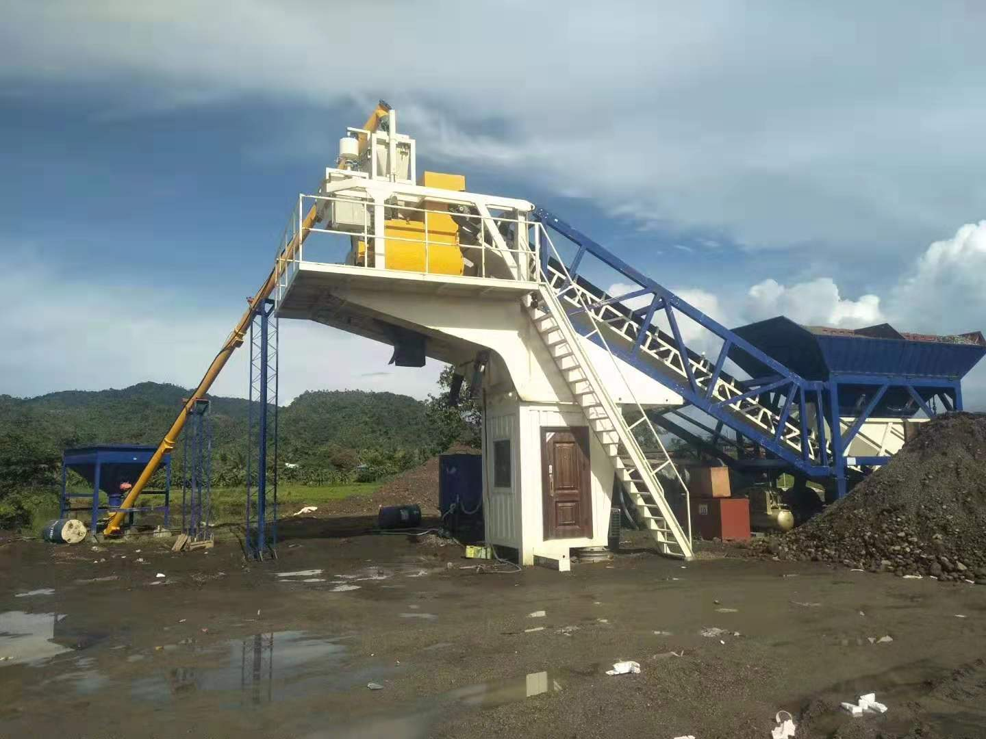 Concrete Batching Plant for Sale Iraq