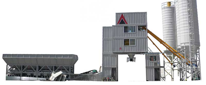 Concrete Batching Plant for Sale Russia