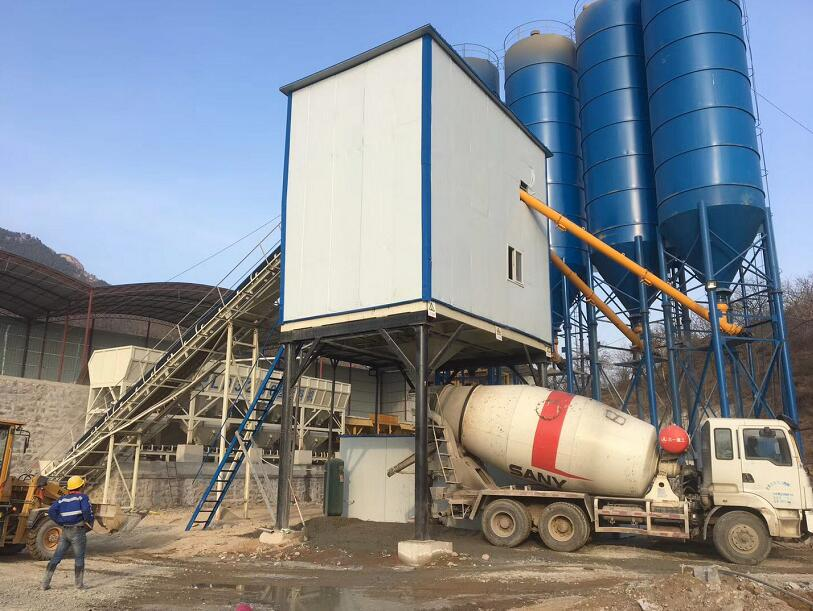 Concrete Batching Plant for Sale Saudi Arabia