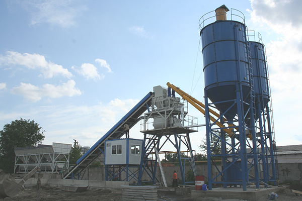 Concrete Batching Plant for Sale in Uganda