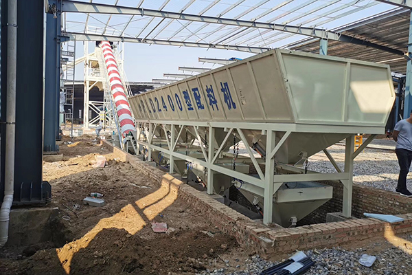 Concrete Batching Plant for Sale in Yemen