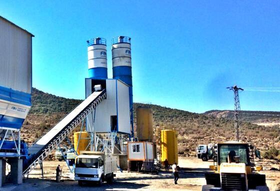 Concrete Batching Plant for Sale Angola
