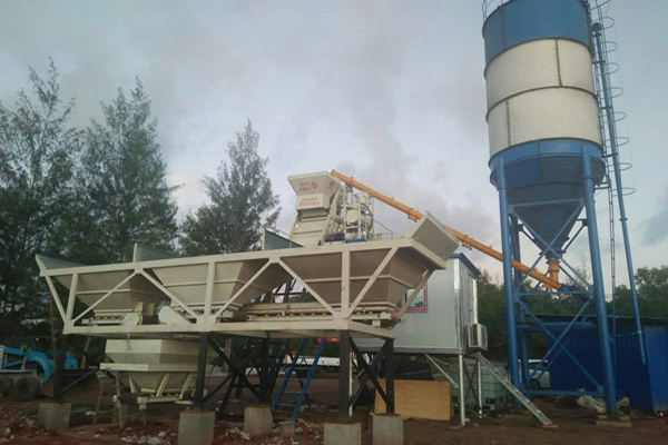 Concrete Batching Plant in Paula