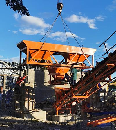 concrete plant installed ph