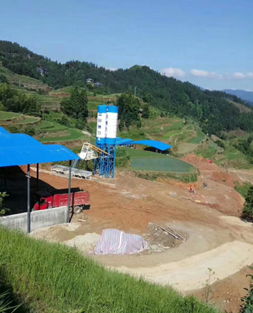 camelway concrete plant in guangxi