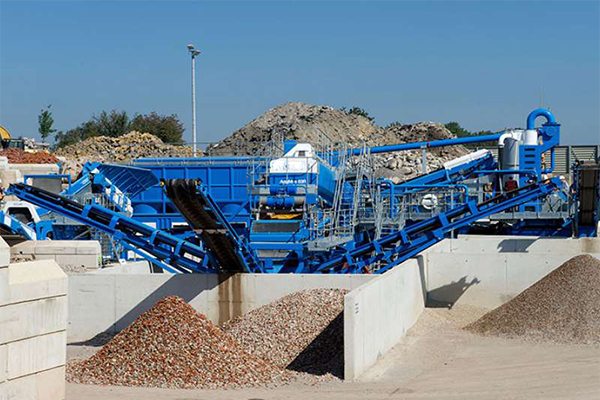 Construction Waste Processing Plant