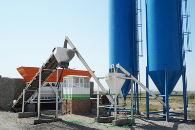 dry mix batch plant