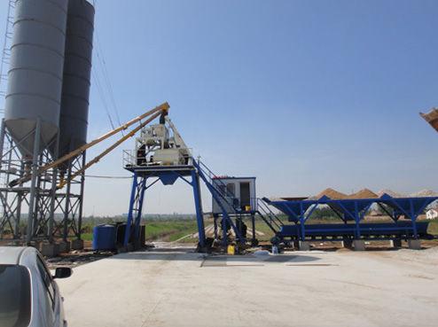 hzs35 batch plant in Myanmar