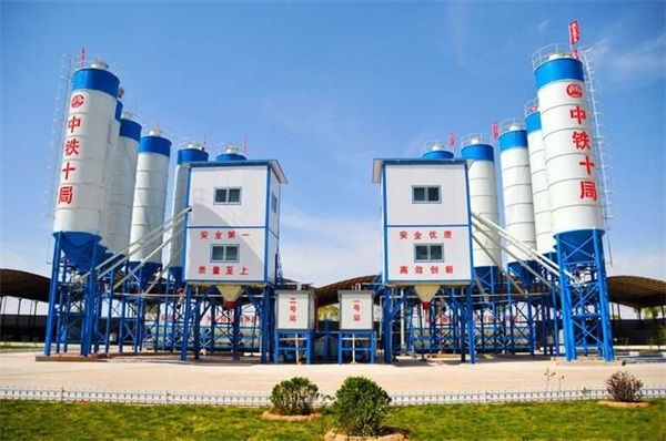 HZS50 Concrete Batching Plant Configuration List