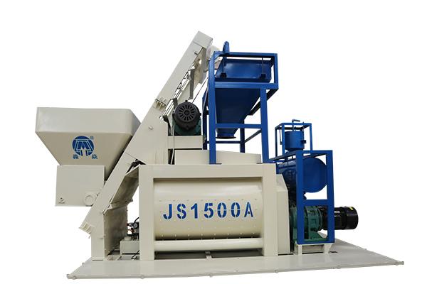 compulsory concrete mixer