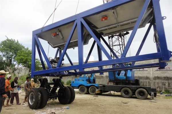 Mobile Concrete Batching Plant For Sale In Indonesia