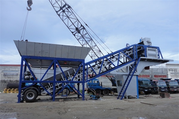 Mobile Concrete Batching Plant For Sale In Malaysia