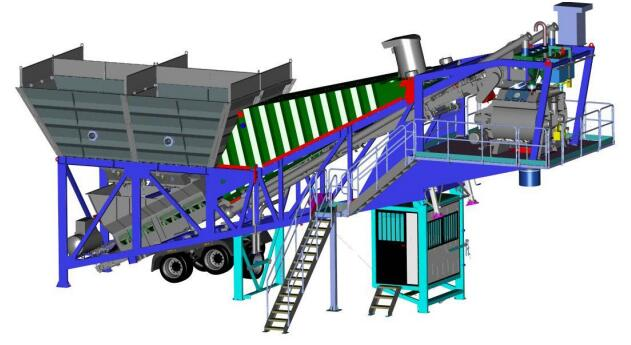 Mobile Concrete Batching Plant for Sale in Philippines
