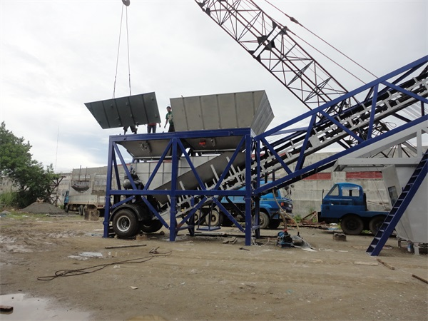 Mobile Concrete Batching Plant supplier In Malaysia