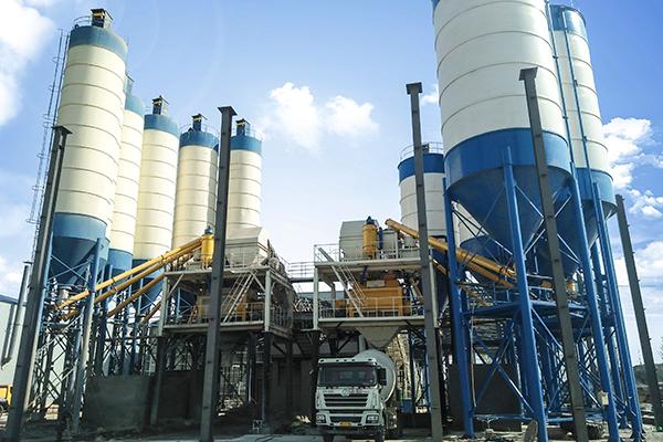 Nigeria concrete batching plant for sale