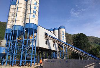 preacst concrete batching plant