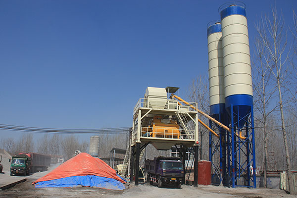 Roller Compacted Concrete Batching Plant