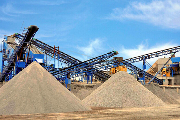 Sand and Gravel Aggregate Process Plant