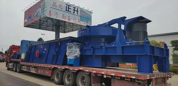 sand making plant delivery