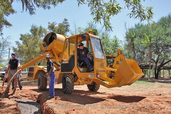 Self loading Concrete Mixer for Sale in Ghana
