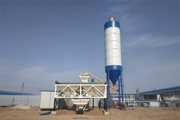Simple Concrete Batching Plant For Sale in Tanzania